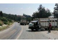 Çanakkale Yenice'de trafik kazası: 1 yaralı