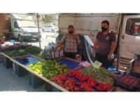 İhsaniye Belediyesi tanzim pazarı kurdu