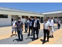 Gençlik ve Spor Müdürü Demir Silifke'de incelemelerde bulundu