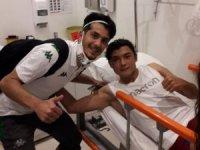 Fibula kemiği kırılan Batuhan'a futbol camiasından destek
