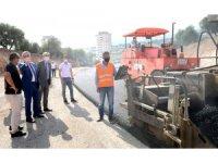 Büyükşehirden asfalt çalışması