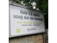 Bingöl'de korona virüse karşı  şiveli billboardlar gülümsetti