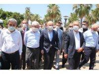 Bakan Karaismailoğlu, Çamlıbel Balıkçı Barınağında incelemelerde bulundu