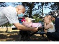 Başkan Büyükgöz'den piknik yapan vatandaşlara ziyaret
