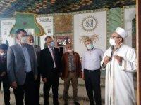 Tarihi Ulu Camii'nde incelemelerde bulundu