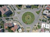 Aydın Büyükşehir Belediyesi Malazgirt Meydanı'nda çizgi çalışması yaptı
