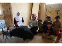 Eşi çalışamayan 7 çocuk annesi, yaşam mücadelesi veriyor