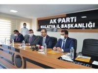 Bakan Kasapoğlu'ndan AK Parti İl Başkanlığına ziyaret