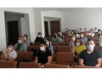 Efeler Belediyesi'nden çalışanlara iş sağlığı eğitimi