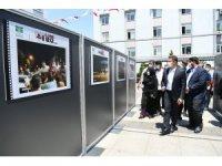 15 Temmuz'da tankın ezdiği otomobil Bahçelievler'de sergilendi