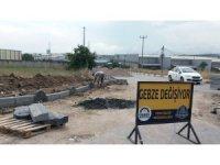 Gebze'de  üst yapı çalışmaları sürüyor