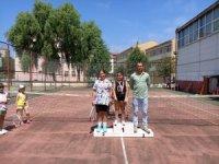 Akçakoca'da mini tenis turnuvası yapıldı