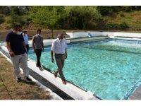 İnönü'de havuz sezonu başladı