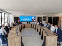 Ahlatcı'dan başkanlarla istişare toplantısı