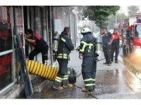 Aydın'da iş yeri yangını paniğe neden oldu