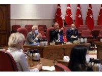 Bakan Akar, AB Dış İlişkiler ve Güvenlik Politikası Yüksek Temsilcisi Borrell ile görüştü