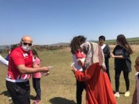 Kars'ta gençlerin spor malzemesi ihtiyaçları karşılandı