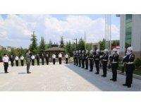 Vali Çelik, İl Jandarma Komutanlığı'nda