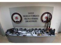 Samsun'da silah kaçakçılığı operasyonu: 24 gözaltı
