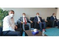 Başkan Seçer, İller Bankası Genel Müdürü Büyük'ten hibe desteği istedi