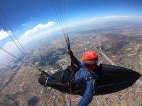Deneme amacıyla havalandı, Türkiye'de bir ilki gerçekleştirdi