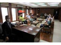Giresun Valisi Enver Ünlü gazetecileri ağırladı