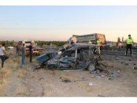 Niğde'de ki trafik kazasında 4 kişi yaralandı