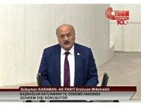 Milletvekili Karaman, Başbağlar katliamının 27. yıldönümü münasebetiyle TBMM'de gündem dışı konuşma yaptı