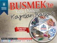 BUSMEK'te yeni dönem kayıtları başladı