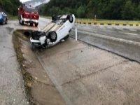 Devrek'te trafik kazası: 6 kişi hafif yaralandı