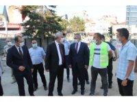 Kaymakam Pişkin, Vali Çakır'a ilçenin ihtiyaçlarını anlattı