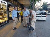 Başkan Kılınç, 9 Eylül Caddesinde vatandaşlarla bir araya geldi