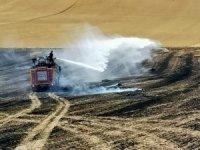 Yozgat'ta 150 dönüm hububat ekili tarla yandı