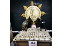 Yüksekova'da 52 kilo 400 gram eroin ele geçirildi