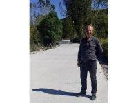 Köyüne beton yol yapılan muhtar şiirle teşekkür etti