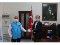 """Cumhuriyet Başsavcısı Turgut'tan """"Kurbanını Paylaş, Kardeşinle Yakınlaş"""" kampanyasına destek"""