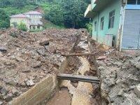 Rize'deki sellerin ardından yapılan hasar tespit çalışmaları tamamlandı