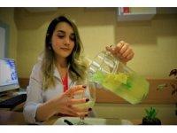 Uzmanından sağlıklı yaz içeceği tarifi, soğuk ve doğal yeşil çay