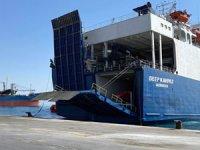Mağusa Limanı'na giriş yapacak TIR şoförleri, Covid-19 testi yaptıracak