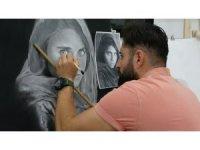 Muşlu gencin hayatı tanıştığı İtalyan ressamla değişti
