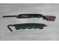 Ereğli'de polis 7 adet silah ele geçirdi
