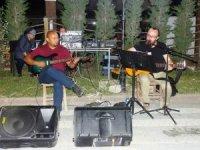 Hisarcık Gençlik Parkı'nda müzik ziyafeti