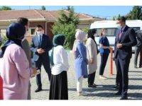 Çocuk Evleri Sitesi'nde çocuklarla bir araya geldi
