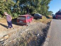 Bilecik'te trafik kazası 5 kişi yaralandı