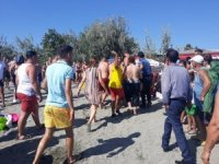 Edremit'te boğulmak üzere olan genci cankurtaran kurtardı