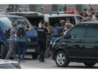 Kiev'de bankadaki rehine krizi gözaltıyla sona erdi