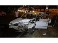 Samsun'da iki otomobil çarpıştı: 7 yaralı
