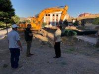 Bahşılı'da cami inşaatı başladı