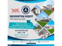 Samsun Üniversitesi 'YÖK Sanal Fuarı'nda