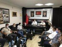 Adıyaman 1954Spor yönetiminden Başkan Dağtekin'e ziyaret